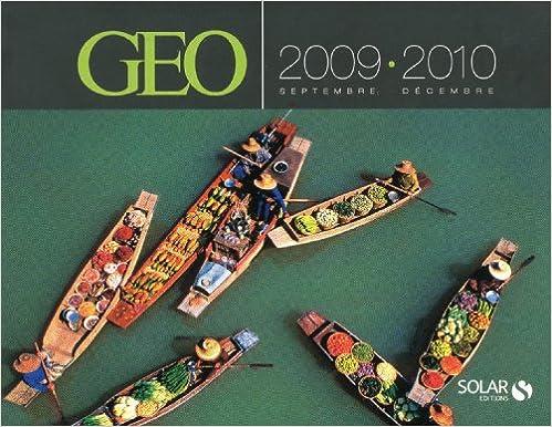 Agenda Géo 2009-2010