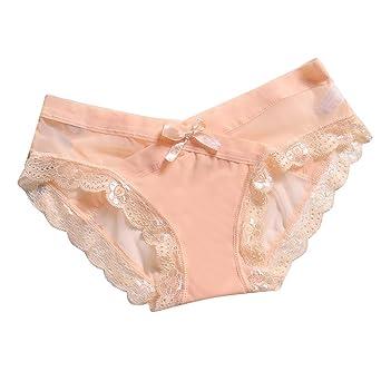 4da2fe446b77 HYIRI Classic Lace Panties Briefs Underwear, Women's Sexy  TransparentElastic Lingerie at Amazon Women's Clothing store: