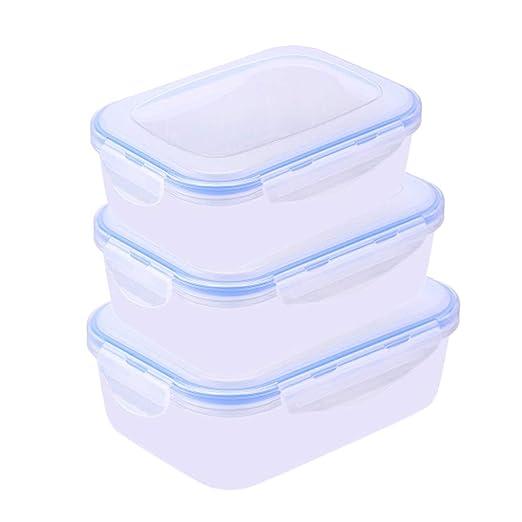 Junecat 3pcs de contenedores de Almacenamiento de Alimentos ...