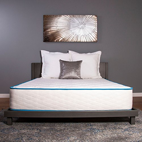 Dreamfoam Bedding Arctic Dreams 10-Inch Cooling Gel Mattress, Queen