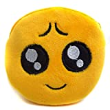 Style New Lovely Women Mini Emoji Coin Purse Case Plush Bag Wallet Handbag Gift (Color - 9)
