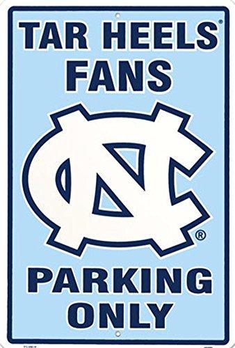 University of North Carolina Tar Heel Fans Parking Only NCAA Tin - Basketball Duke Unc