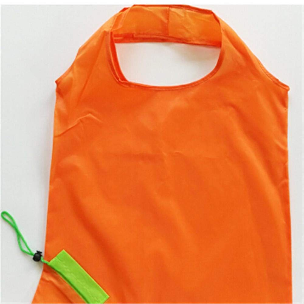 PAIZEP 4 PC Bolso de Compras Plegable de Zanahoria Reutilizable Bolsas de Nylon ecol/ógicas Plegables Bolsa de Mano Bolsa ecol/ógica
