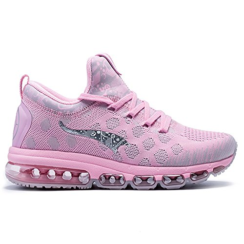 for sale cheap price from china cheap deals ONEMIX Women's Air Cushion Lightweight Walking Running Shoes Pink RsQoQp