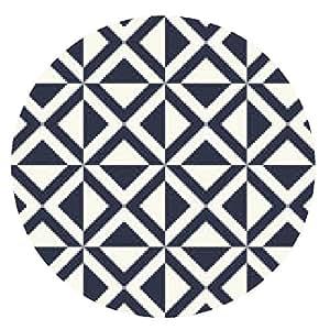 alfombrilla de ratón patrón geométrico sin fisuras - ronda - 20cm
