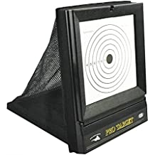 AirSoft Targets For Shooting ,  Reusable BB & Pellet Guns With Trap Net Catcher , Heavy-Duty Paper Sheets , Stand and Paper Training Target Easy to See Your Shots Land , For Indoor , Outdoor  Ranges
