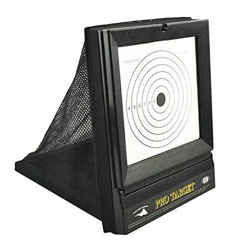 (AirSoft Targets For Shooting ,  Reusable BB & Pellet Guns With Trap Net Catcher , Heavy-Duty Paper Sheets , Stand and Paper Training Target Easy to See Your Shots Land , For Indoor , Outdoor  Ranges)