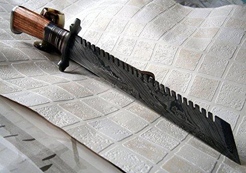 REG 324 Handmade Damascus Inches Hunting