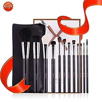 DUcare makeup brushes with case proffessional comestic tools