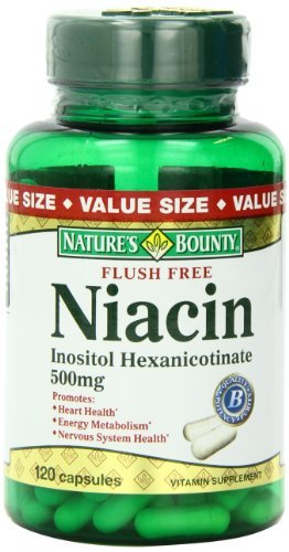 (Nature's Bounty Flush Free Niacin 500 Mg (Pack of 5))