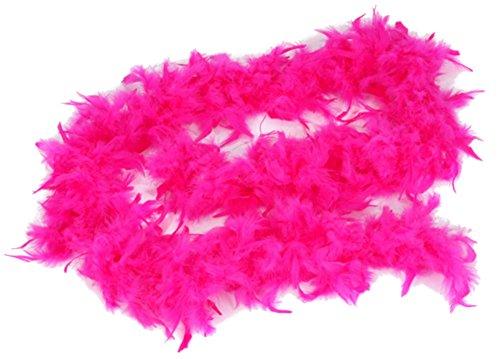 Pop Dance Costume (Fuchsia Feather Boa (6 ft))