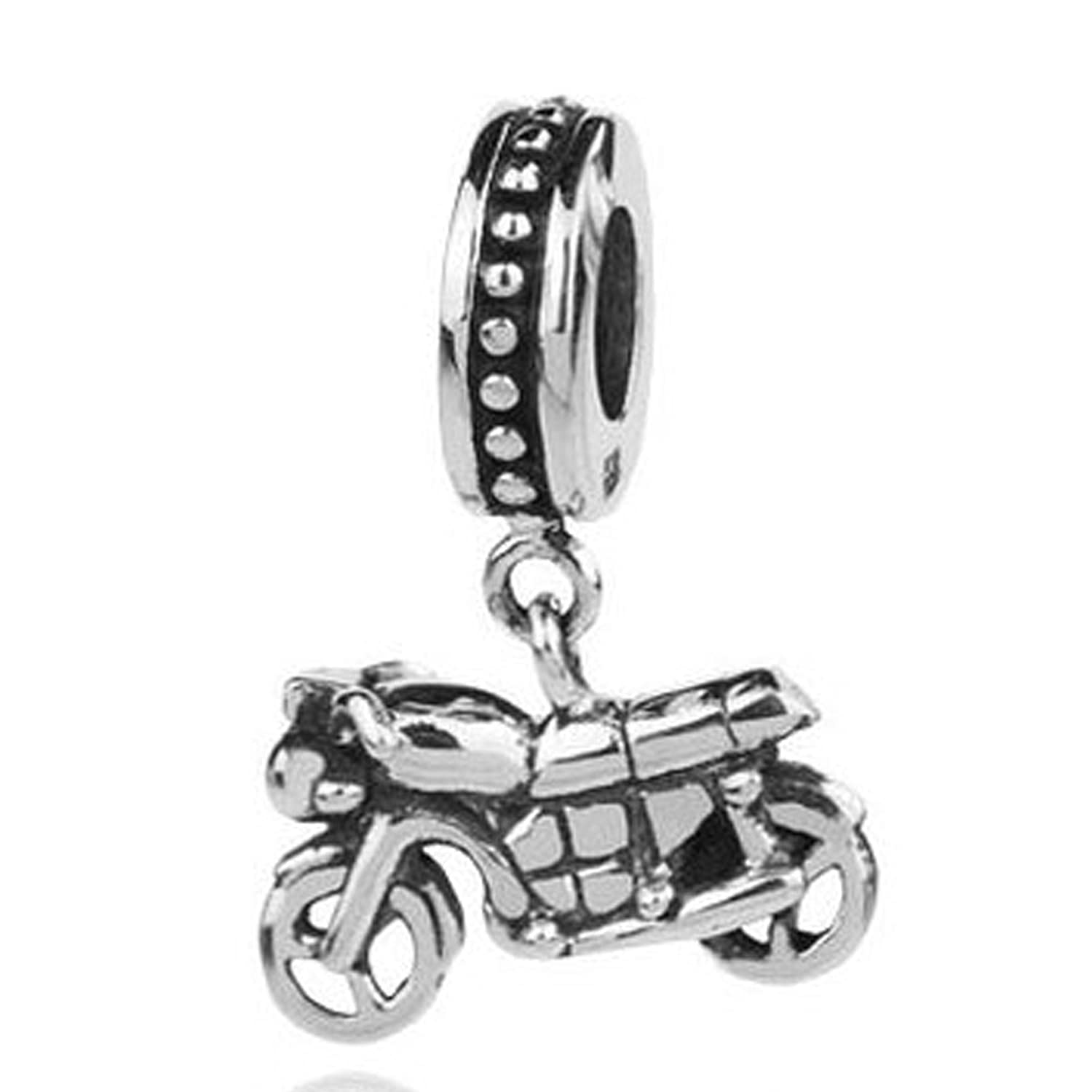 pandora charms full from p fox for bracelet compatible bead charm animal size amazon