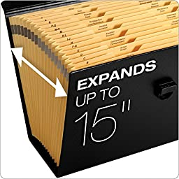 Pendaflex Portafile Expanding Organizer, 15 1/8\