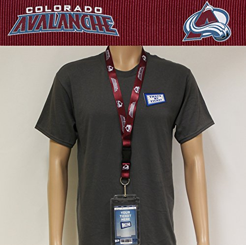 NCAA Colorado Avalanche NHL-LN-095-15 Team Lanyard, One Size, Multicolor