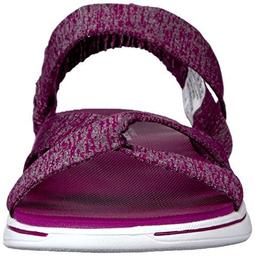 Sandalias y chanclas para mujer, color Rojo , marca SKECHERS, modelo Sandalias Y Chanclas Para Mujer SKECHERS H2 GOGA BOUNTIFUL Rojo