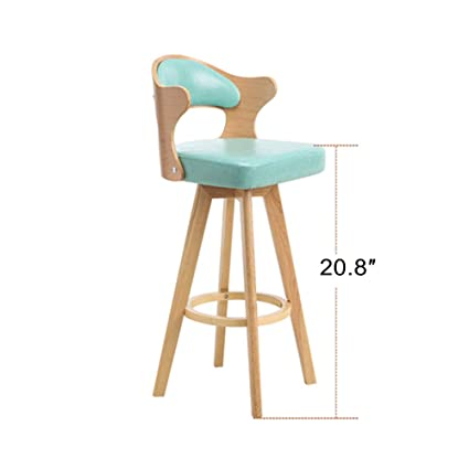 Prime Amazon Com Hikty Bar Chair Adjustable Bar Stools Solid Wood Evergreenethics Interior Chair Design Evergreenethicsorg