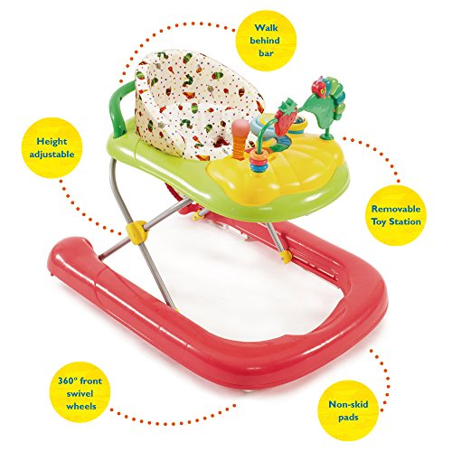 Creative Baby The Very Hungry Caterpillar 2 In 1 Walker