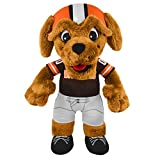 cleveland browns action figures - NFL Cleveland Browns Chomps Mascot Plush Figure, 10