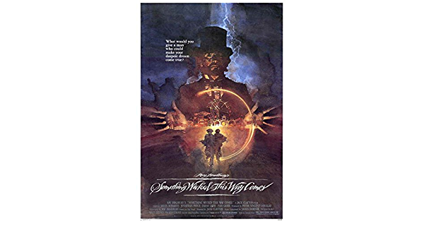 """SOMETHING WICKED THIS WAY COMES Movie Poster 27x40/"""" Theater Size"""