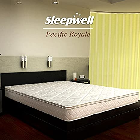 Sleepwell Pacific Royale 6-inch Queen Size Coir Mattress (Off-White ... fc23fc399