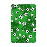 ALIREA Background With Football Gate And Soccer Super Soft Warm Blanket Lightweight Throw Blankets for Bed Couch Sofa Travelling Camping 90 x 60 Inch for Kids Boys Girls