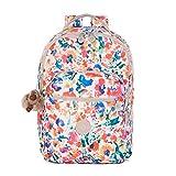 Kipling Seoul Prt Backpack, Floral Night Natural, One Size