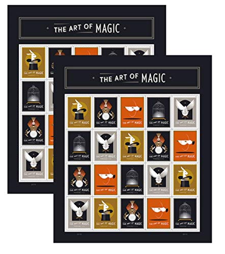 The Art of Magic Forever Stamps by