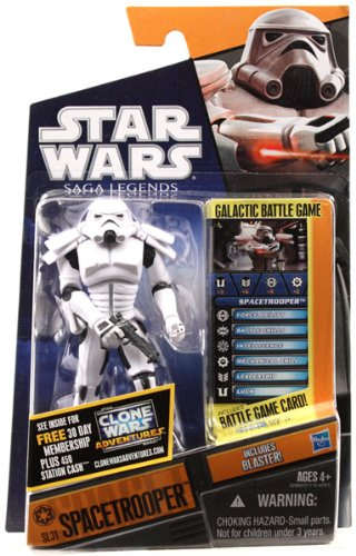 Star Wars 2011 Saga Legends Action Figure SL No. 32 Spacetrooper