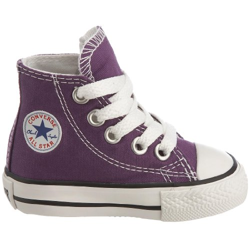 Unisex Laker All Hi Converse Taylor Chuck Trainers Star Purple Children's wxq87URX7