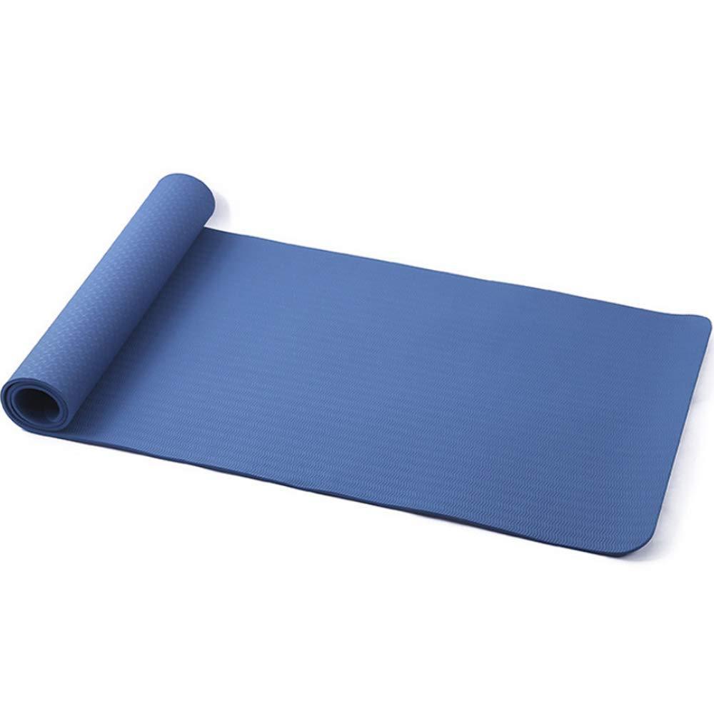 LTT Sport-Yoga-Matte Anti-Rutsch Yoga Matte Faltung Eco 183  61  0.6 cm 2er Set