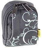 BILORA Fashion Bag - schwarz - Kameratasche - passend für Canon IXUS 145 160 165 170 175 180 185 190 275 HS 285 HS