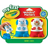 Crayola My First Crayola Character Markers (Red/ Blue) by Crayola My First Crayola