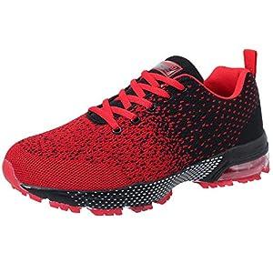 VVQI Chaussures de Sport Homme Femme Sneakers Running Shoes
