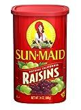 Sun Maid Natural California Raisins, 24-Ounce (Pack of 4)