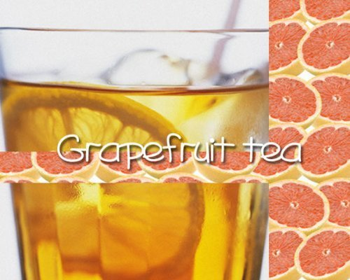 [Fruit tea] Grapefruit tea ''grapefruit tea'' (1000g) [for business]