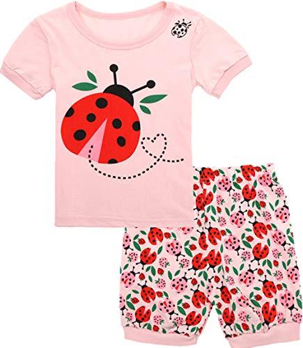 Qtake Fashion Girls Pajamas Balloons Set Children Clothes Set Deer 100% Cotton Little Kids Pjs Sleepwear (Pajamas9, 6)]()