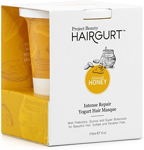 HAIRGURT Intense Repair Deep Conditioner Yogurt Hair Masque for Dry and Damaged Hair; Sulfate Free (6 OZ)