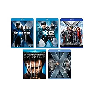 X-Men: The Complete Collection (X-Men / X2: X-Men United / X-Men: The Last Stand / X-Men Origins: Wolverine / X-Men: First Class) [Blu-ray]