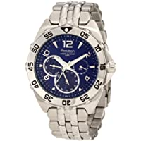 Armitron Men's 204664BLSV Stainless Steel Sport Watch