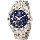 Armitron Men's 204664BLSV Stainless Steel Sport Watch