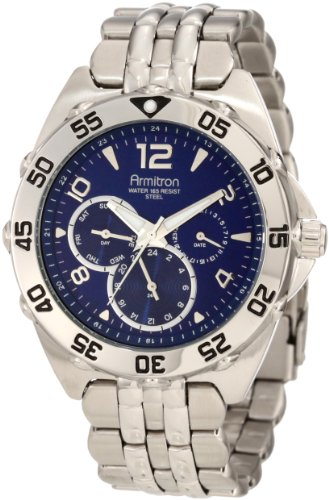 armitron-mens-204664blsv-stainless-steel-sport-watch