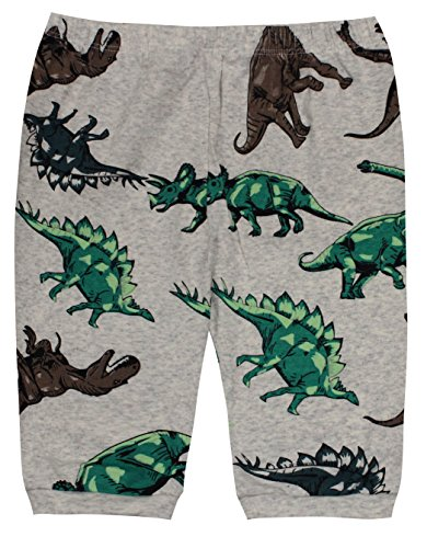 Boys Dinosaurs Pajamas Summer Children Cartoon Clothes Kids 2 Pieces Short Set Size 5 Years by CoralBee (Image #3)
