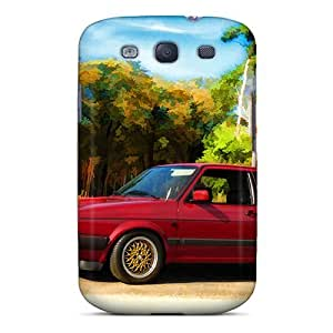 Unique Design Galaxy S3 Durable Tpu Case Cover Hdr Vw Golfii