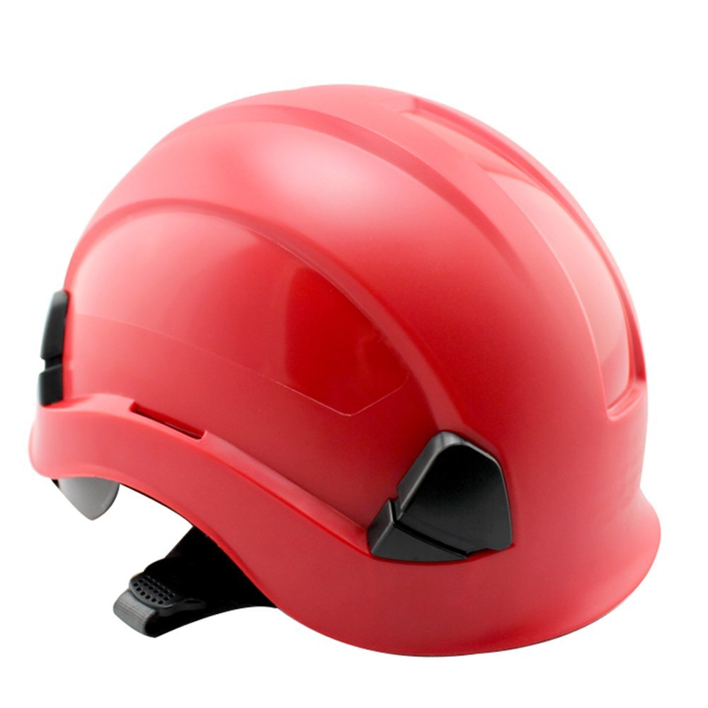 Outdoor equipment ABS-isolierter Helm, Konstruktion UV-Schutzhelm, Antikollisions-Belüftungshelm ZDDAB