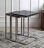 Style Well's Hartford Set of Tables in Dark Walnut Finish