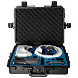 Ultimaxx Water Proof Rugged Compact Storage Hard Case for DJI FPV VR Goggles and DJI Mavic 2 Pro/Zoom + Fits Extra Accessories