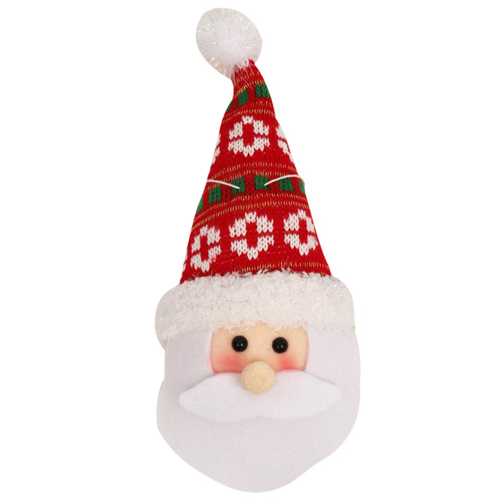 c24a403d991c0 Cupcinu Christmas Decoration Props Christmas Tree Ornaments Holiday Window  Pendant Christmas Snowman Santa Pendant Ornaments for Home Mall with Foam  ...