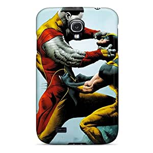 KimberleyBoyes Samsung Galaxy S4 Scratch Resistant Cell-phone Hard Cover Unique Design Attractive Colossus V Wolverine Pattern [cUa141iYsu]