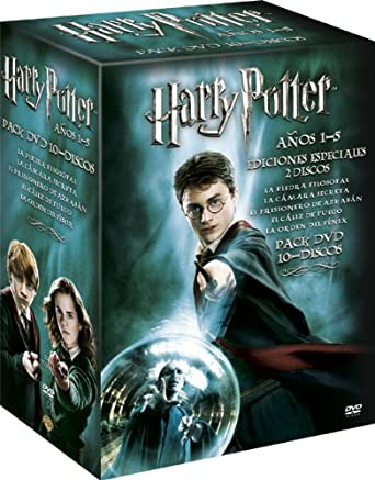 Baúl Harry Potter (1-5) [DVD]: Amazon.es: Daniel Radcliffe, Emma ...