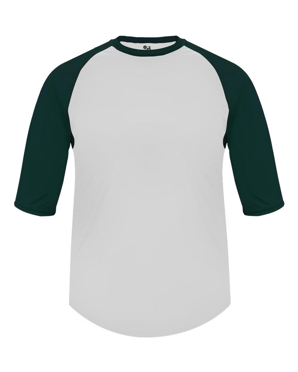 ad650c7d Amazon.com : Baseball & Softball Raglan 3/4 Sleeve Moisture Wicking  Undershirt & Practice Uniform Jersey Shirt (Youth & Adult) : Sports &  Outdoors